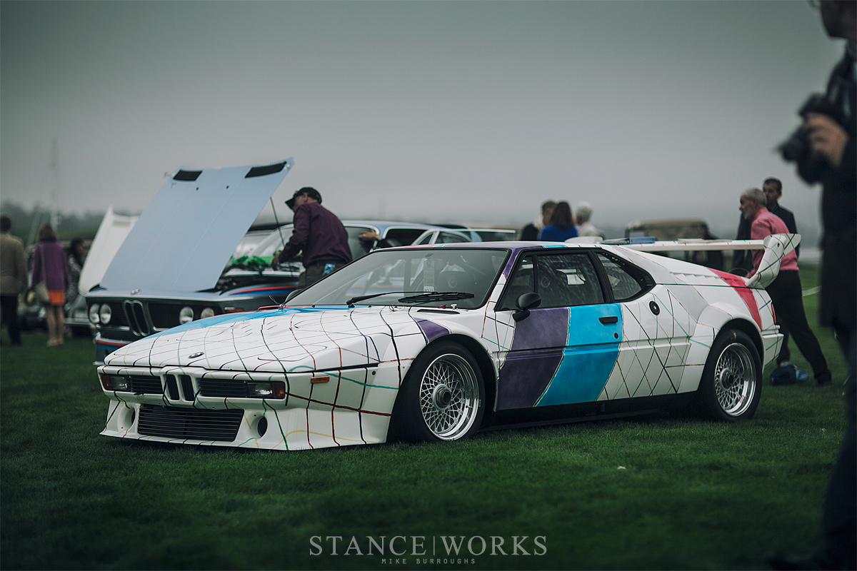 the tragedy behind the art the frank stella penned bmw m1 art car. Black Bedroom Furniture Sets. Home Design Ideas
