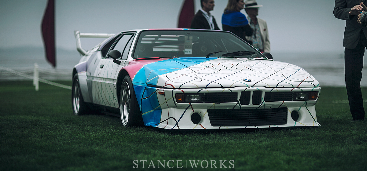 The Tragedy Behind the Art - The Frank Stella-Penned BMW M1 \