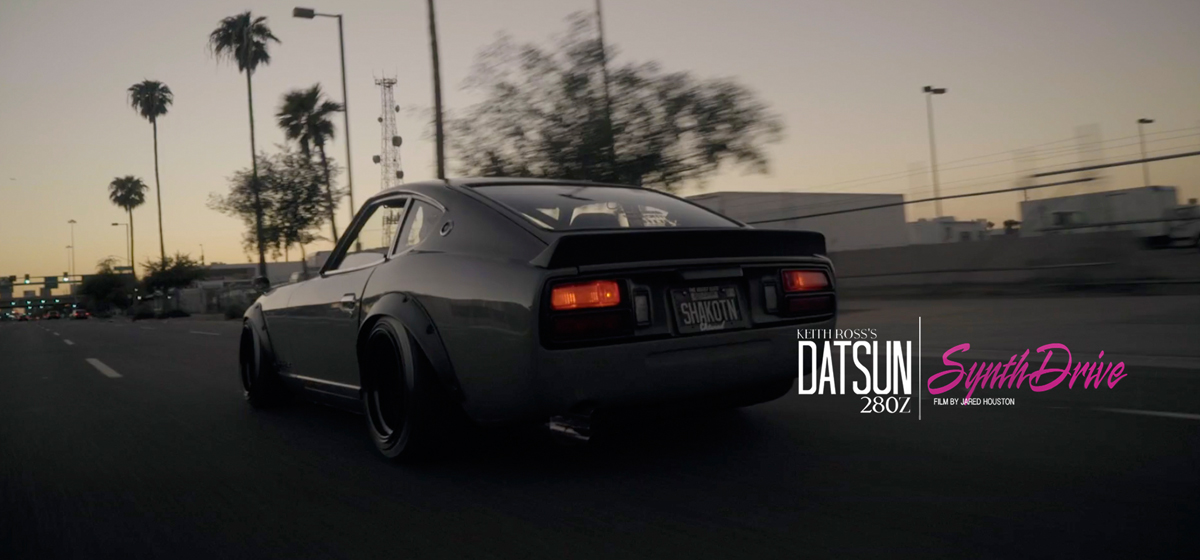 Synth Drive: Keith Ross's 1977 280Z - A Film by Jared Houston