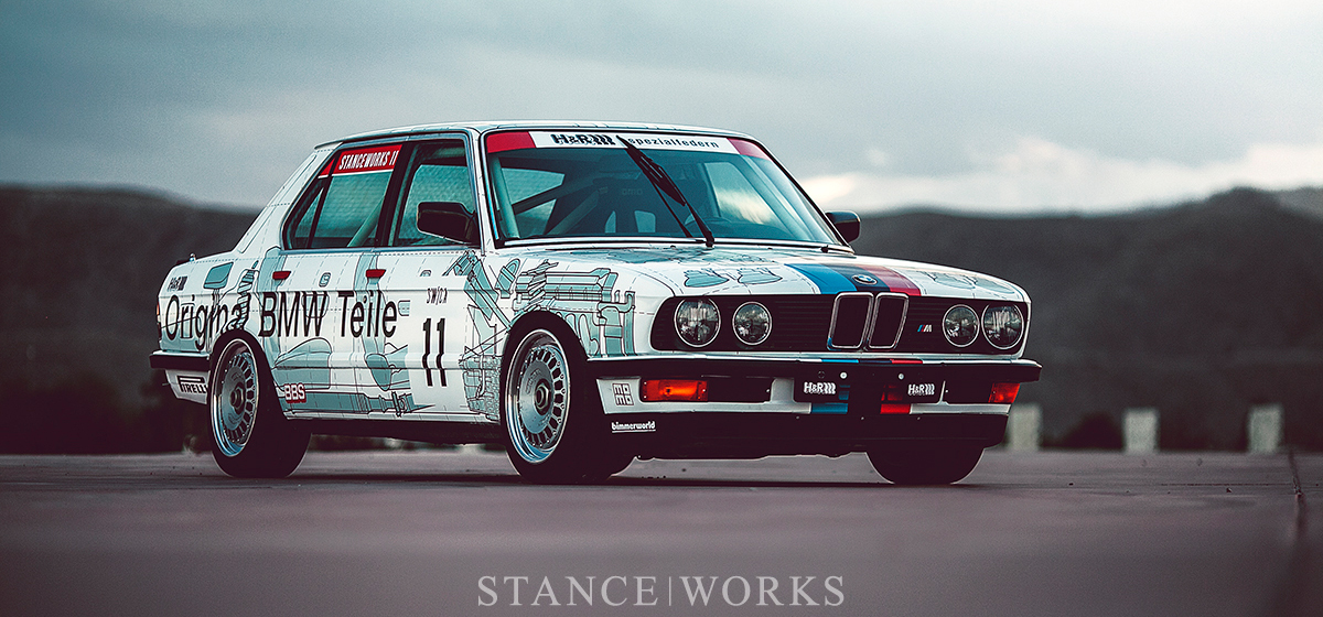 "The ""Parts Car"" - Mike Burroughs's 1984 Group A-inspired E28 M5 Tribute: Unveiled"