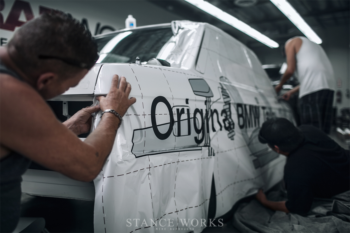 Paint is Dead - WrapWorks Gives the StanceWorks Group A Tribute E28 ...