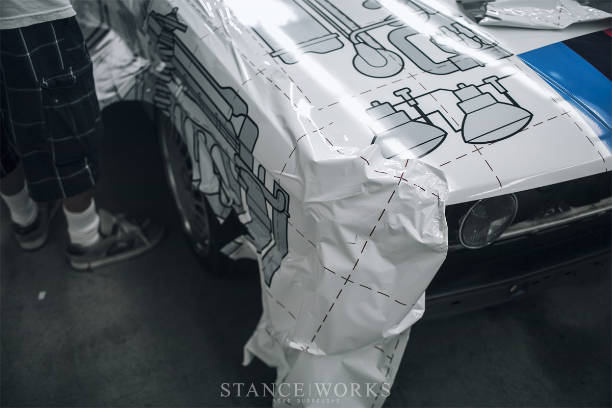 Paint Is Dead Wrapworks Gives The Stanceworks Group A
