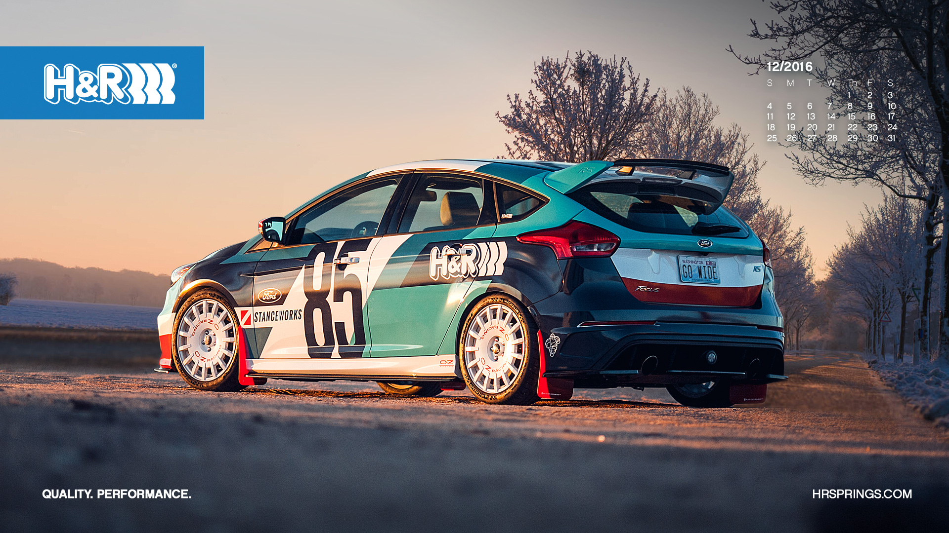 Stanceworks Wallpaper The Hr X Stanceworks Ford Focus Rs