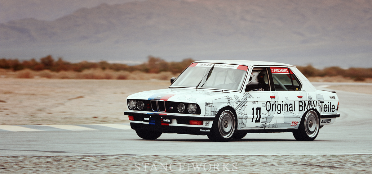 "BimmerWorld - From Roadway to Race Day with the StanceWorks E28 ""Parts Car"""
