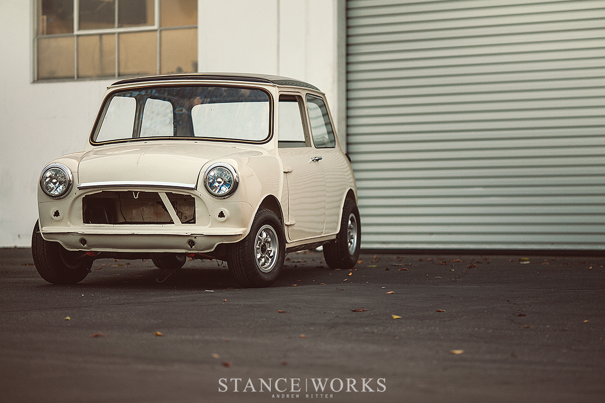 The Daily Grind – Restoration Begins on the Mini