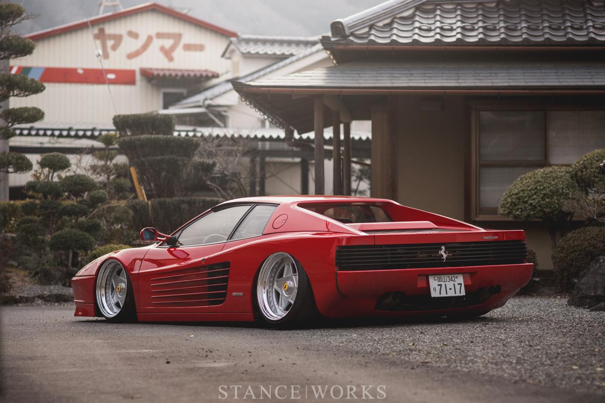 What Makes A Car Quot Cool Quot Kazuki Ohashi S 1989 Ferrari Testarossa