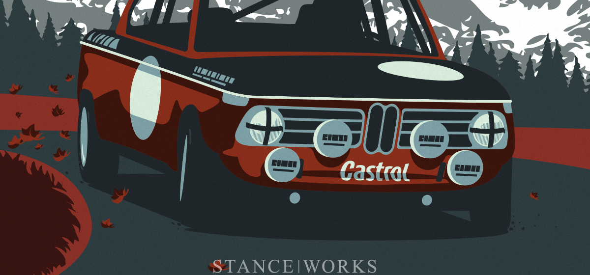 2002sday : A New BMW Art Print From the StanceWorks Studio