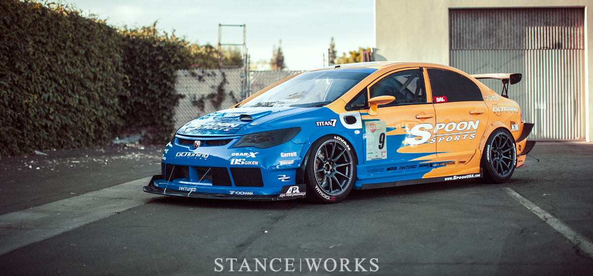 Speed, Engineering, and Style - The Spoon Sports USA Honda FD2 Civic