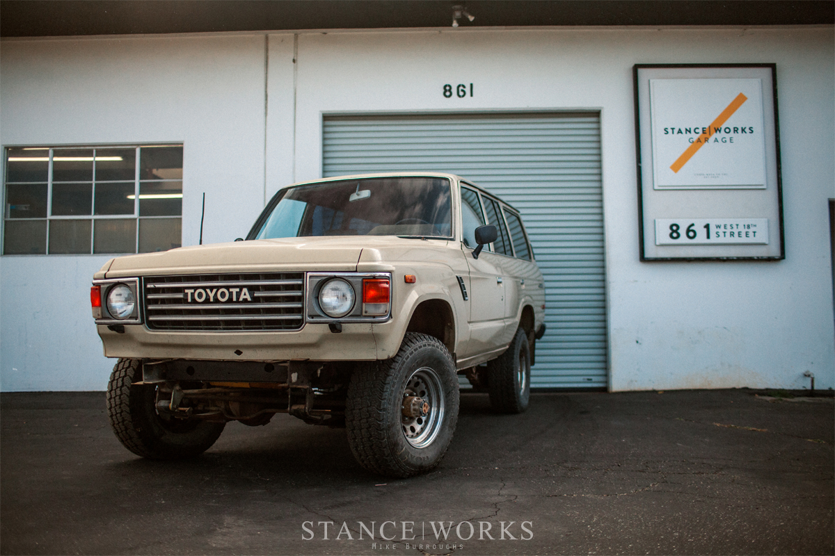 The Daily Grind - The New 6 0 LS-Swap FJ60 Land Cruiser Project