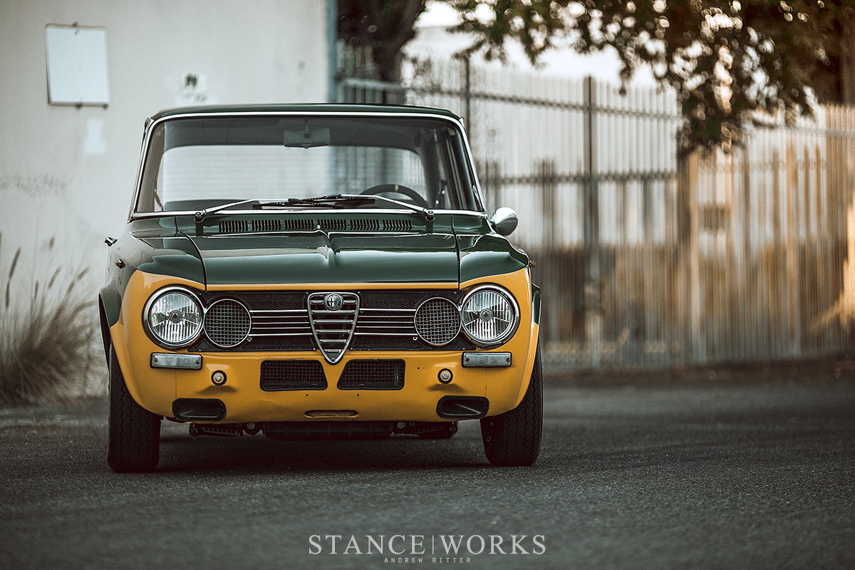 A Real Balduzzi Alex Fishers 1972 Alfa Romeo Giulia 1300 Super By Springs Producing 180 Horsepower The Car Is Substantially Faster Than Had Ever Intended Unlike Santino Himself