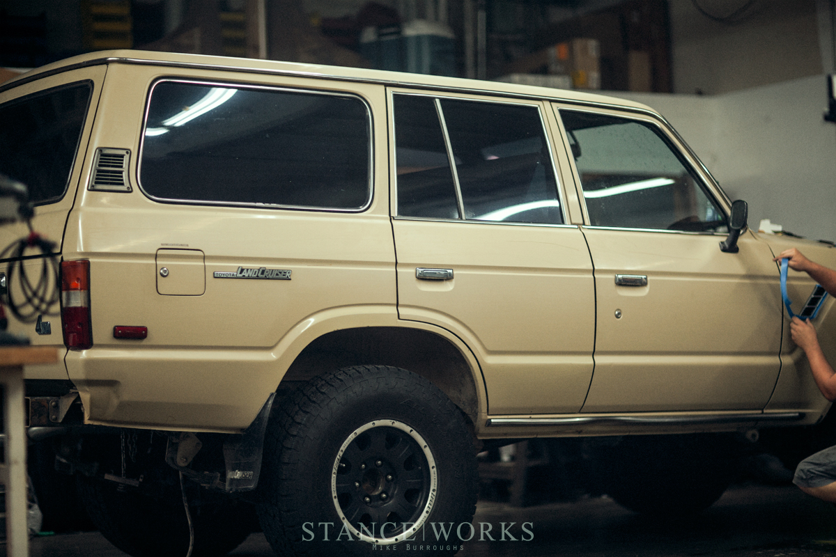 Paint Correcting Our Fj60 Land Cruiser With Turtle Wax