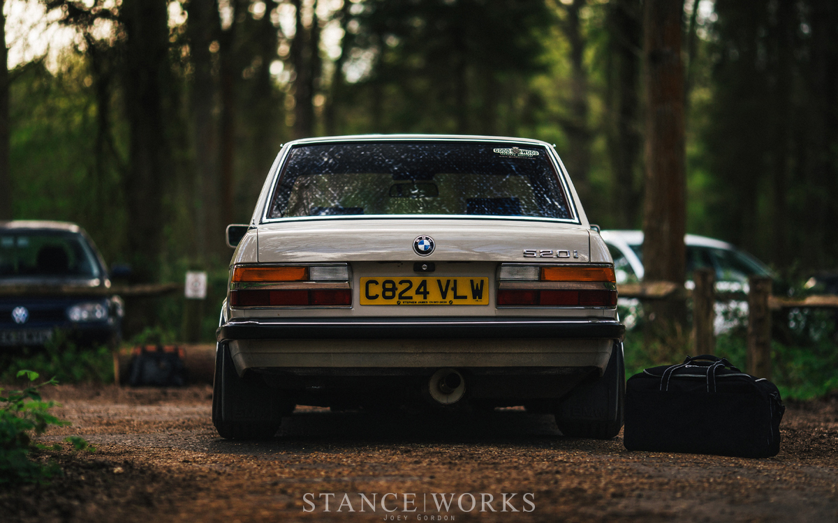 From R8 To E28 Jack Williams S Bagged Amp Swapped 1986 Bmw 520i Stanceworks Com