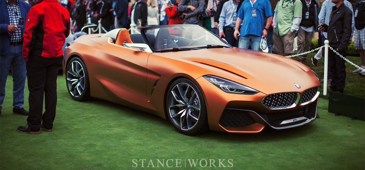 Unveiled The Bmw Concept Z4 Roadster