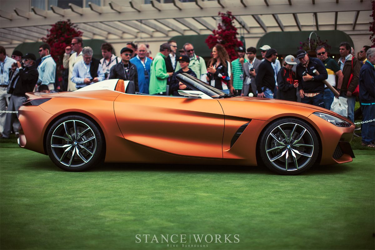 Bmw Z4 Concept 2018 2019 Profile Side Shape Stanceworks