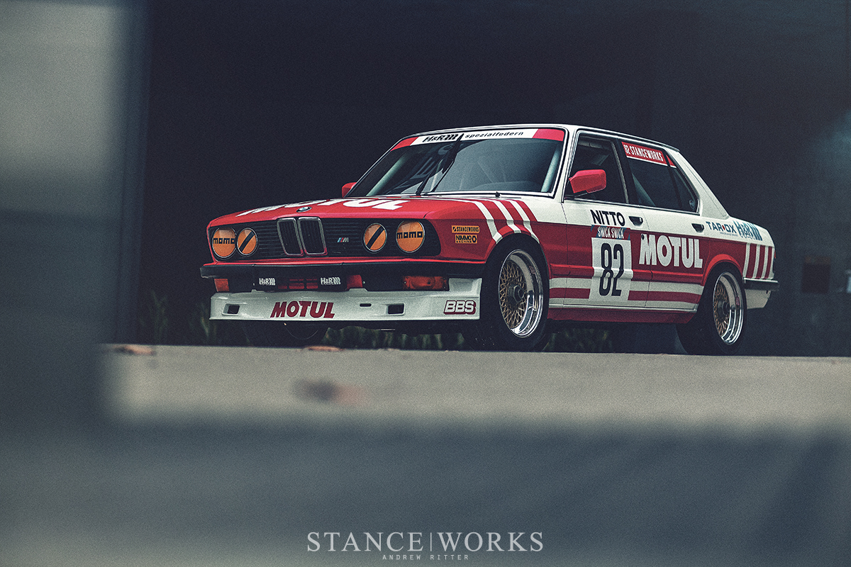 Stanceworks Bmw E28 M5 Group A Tribute Receives A New Motul Livery