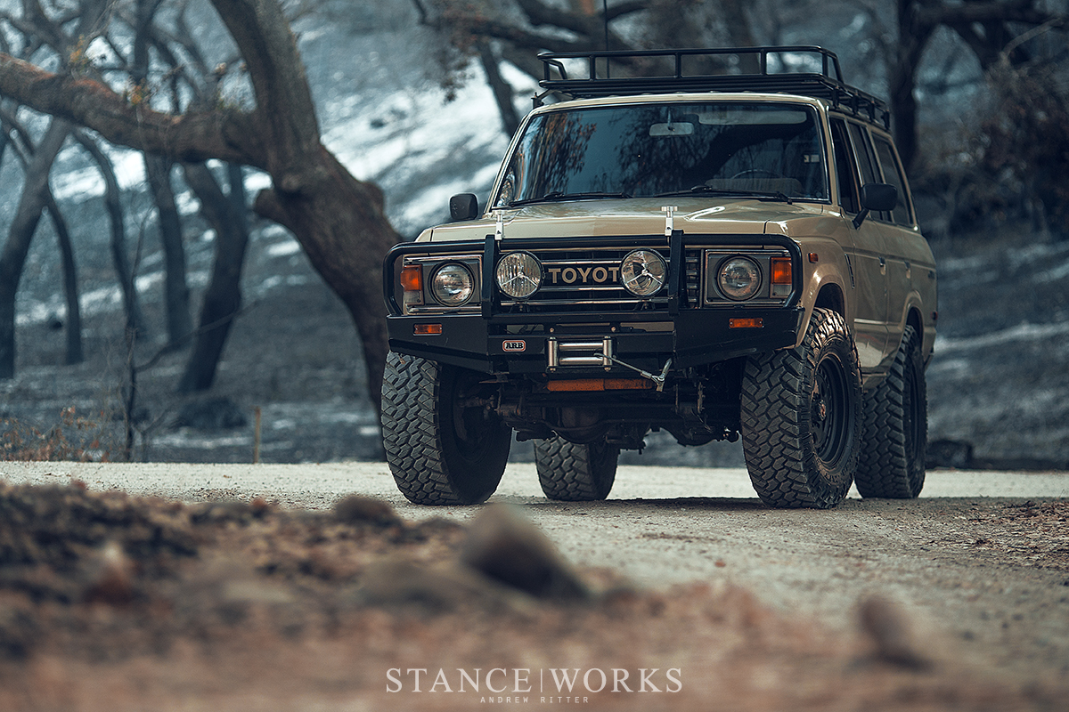 The Daily Grind Stanceworks Ls Swapped Fj60 Land Cruiser At Toyota Lake Cachuma
