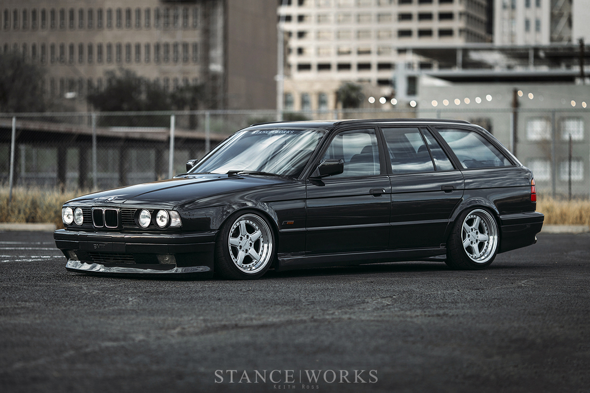 Between Tokyo And Munich My 92 Bmw 525i Touring By Keith Ross Stanceworks Com