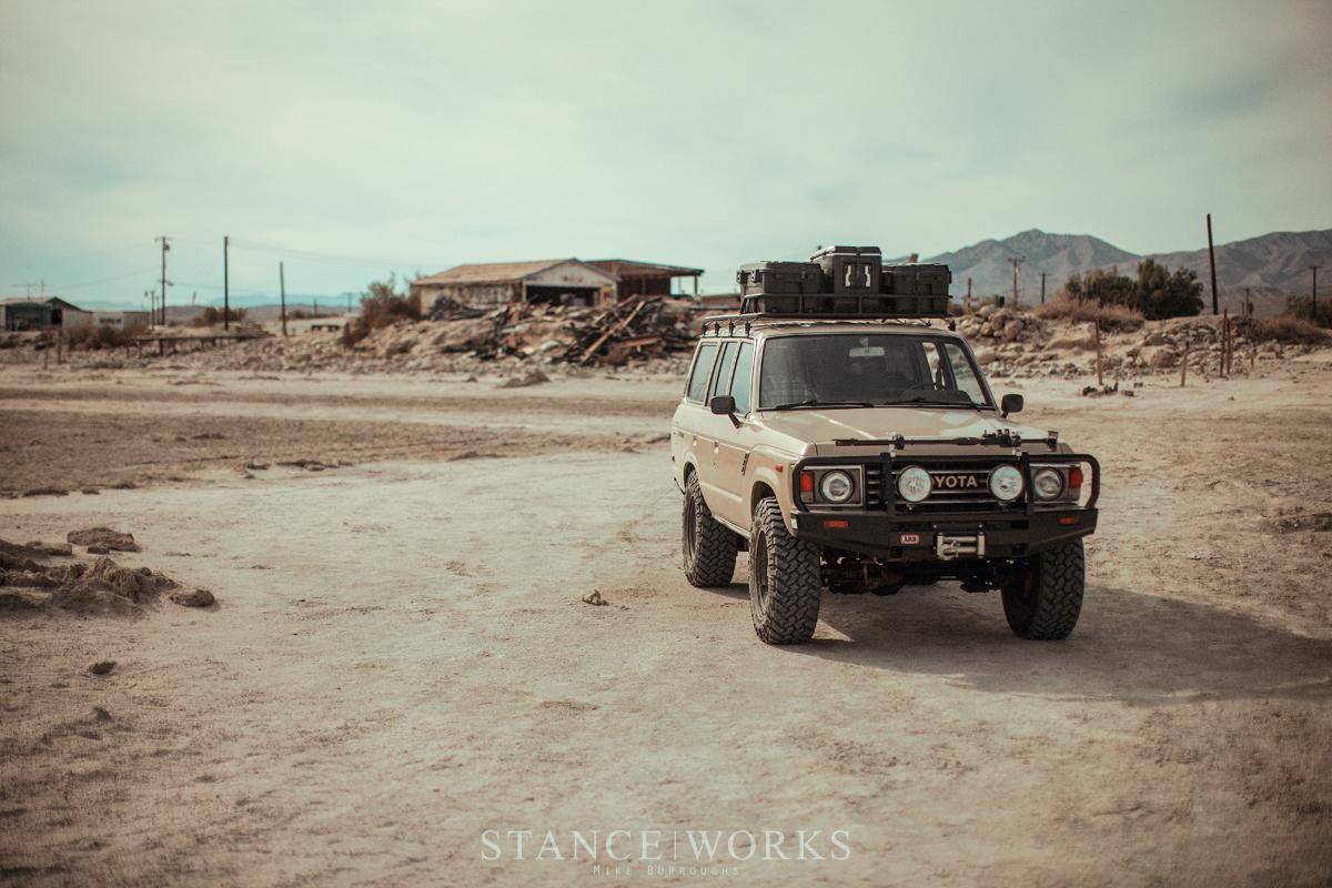 Salton Sea Beach Fj60 Toyota Land Cruiser Arb Nitto Tire