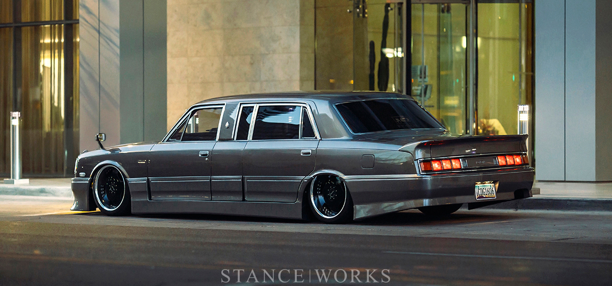 Diamond In The Back Cesar Luna S 1990 Toyota Century Limo