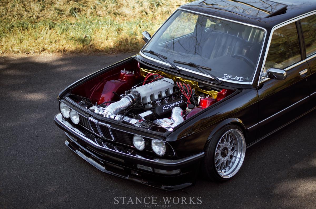 Full Tilt Dirk Deppen S Procharged V8 Swapped 1986 Bmw