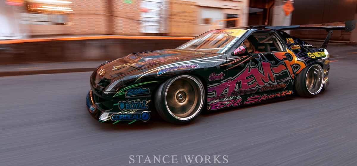 Evan Brown's FC RX7 Returns With A Vengeance - StanceWorks