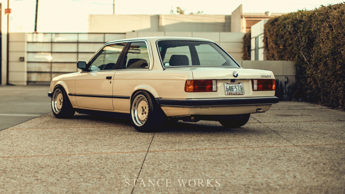 Slowest of the Low - Byron Wilcox's 1984 BMW E30 318i