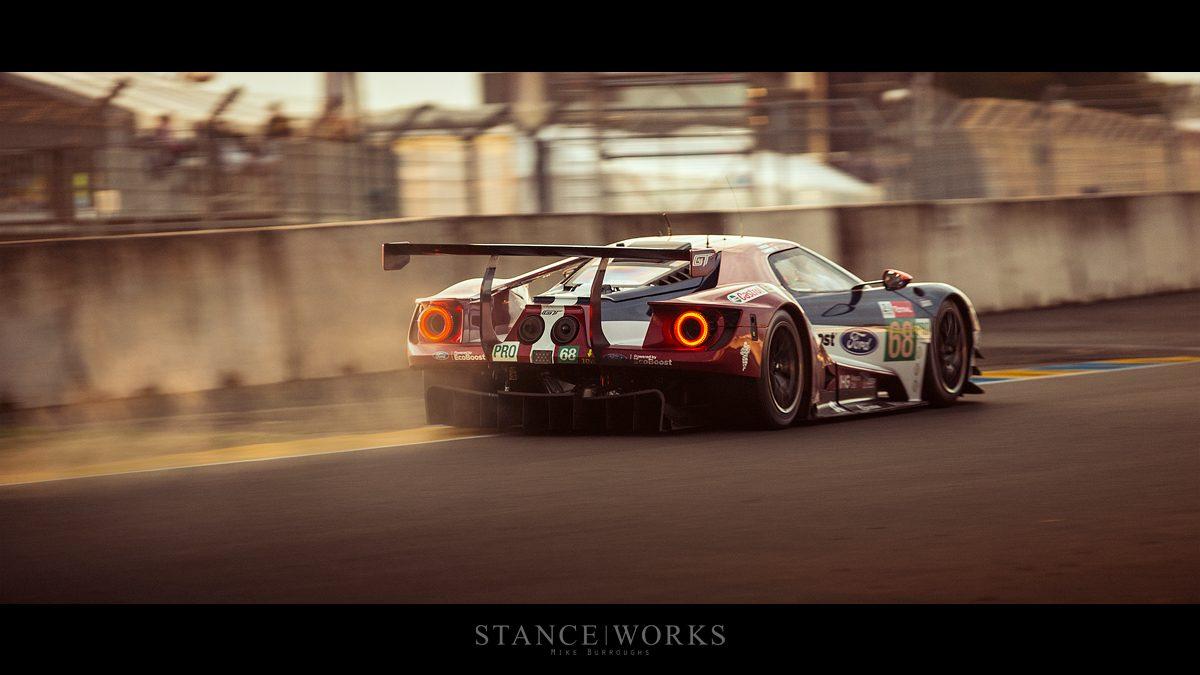Ford Gt Gte Pro Le Mans Rear End Dust Le Sarthe Copy