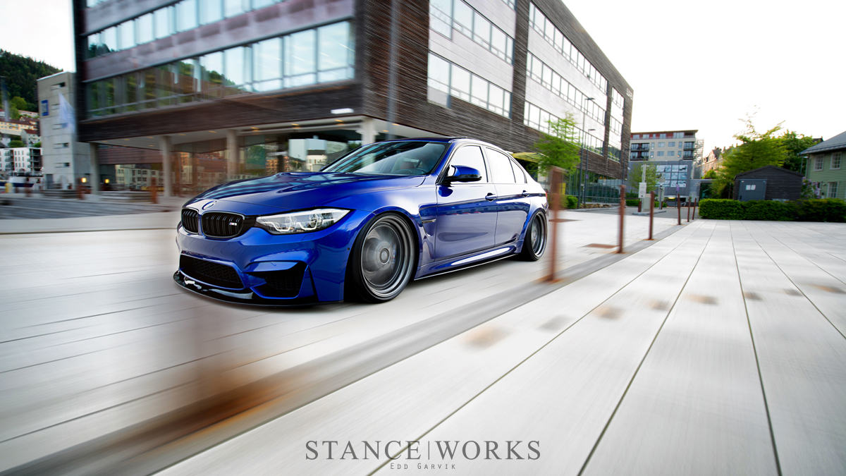 Individual Touches Frode Dale S Bmw F80 M3 Stanceworks Com