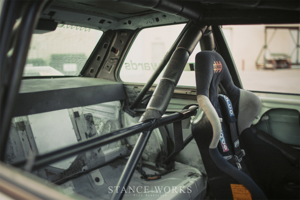 Mike Burroughs E30 M3 Roll Cage Stanceworks