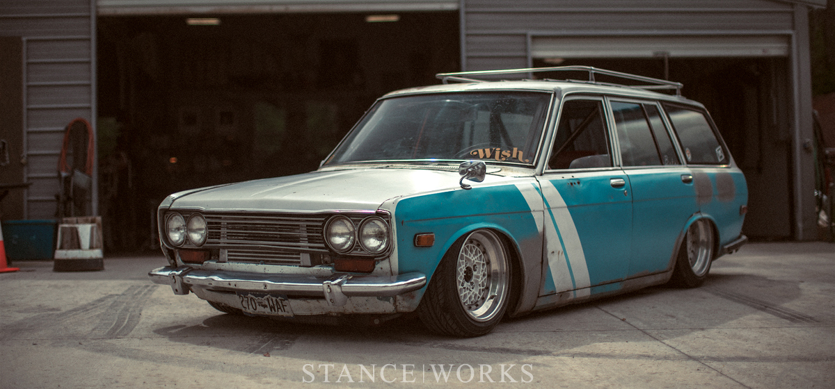The Process of Creation - Roddy Turner's SR20-powered 510 Wagon
